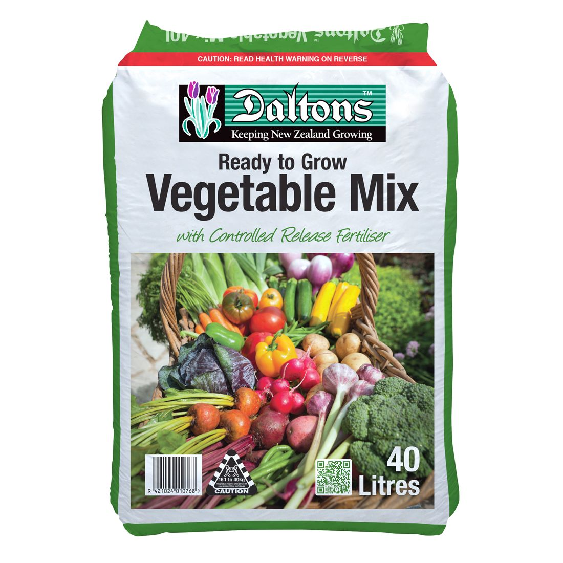 Vegetable Mix Ready To grow 40L Bag