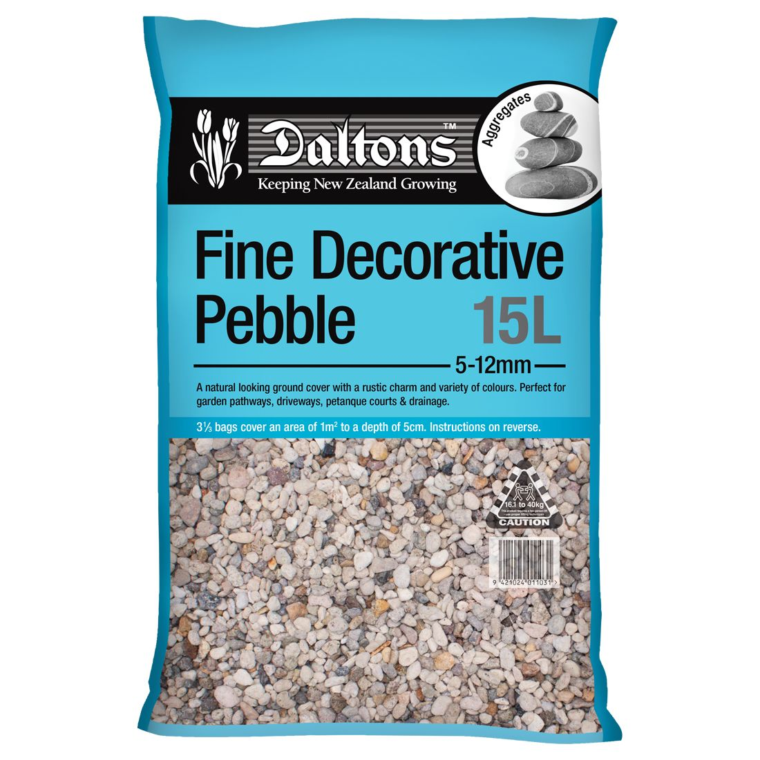 Fine Decorative Pebble 15L Bag