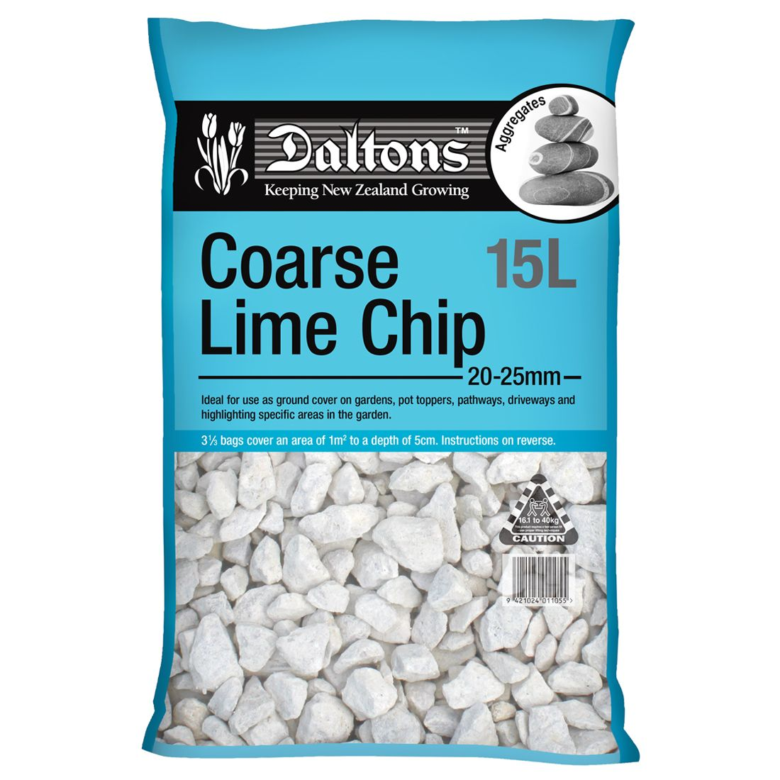 Coarse Lime Chip 15L Bag