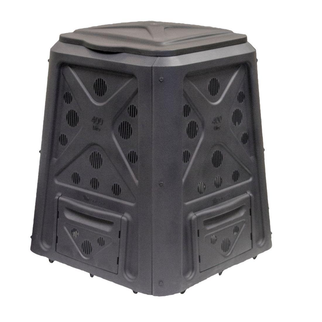 Taurus Compost Bin Black 400L