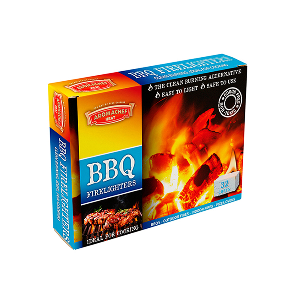 BBQ Firelighters 32 Cubes HACF18113