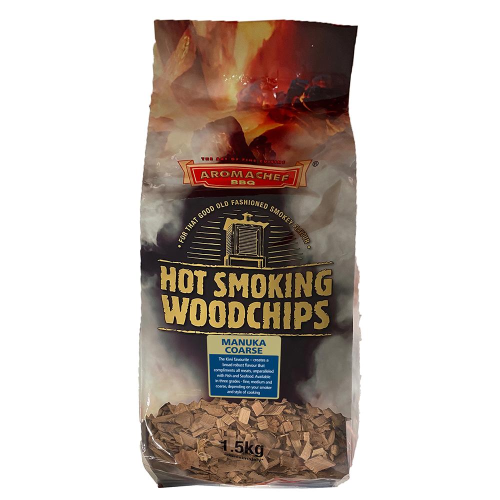 Woodchips Manuka Coarse 1.5kg HMCBG1.5