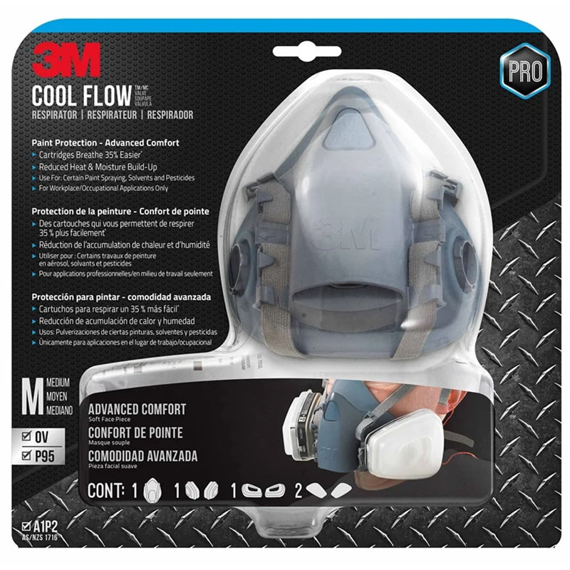 Cool Flow Professional Paint Project Respirator Medium