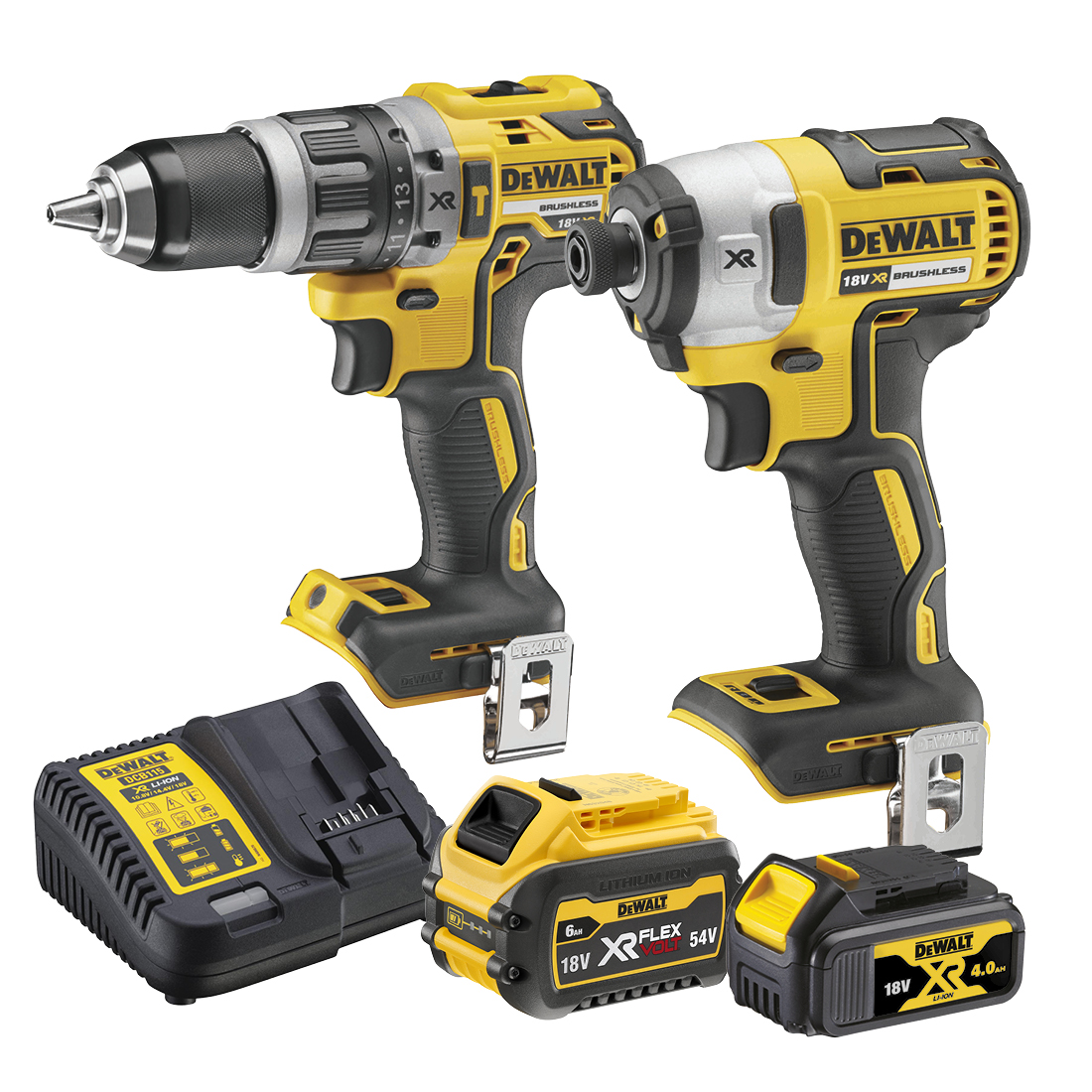 Twin Kit with Flexvolt Battery 18V XR DCZ268M1T1-XE