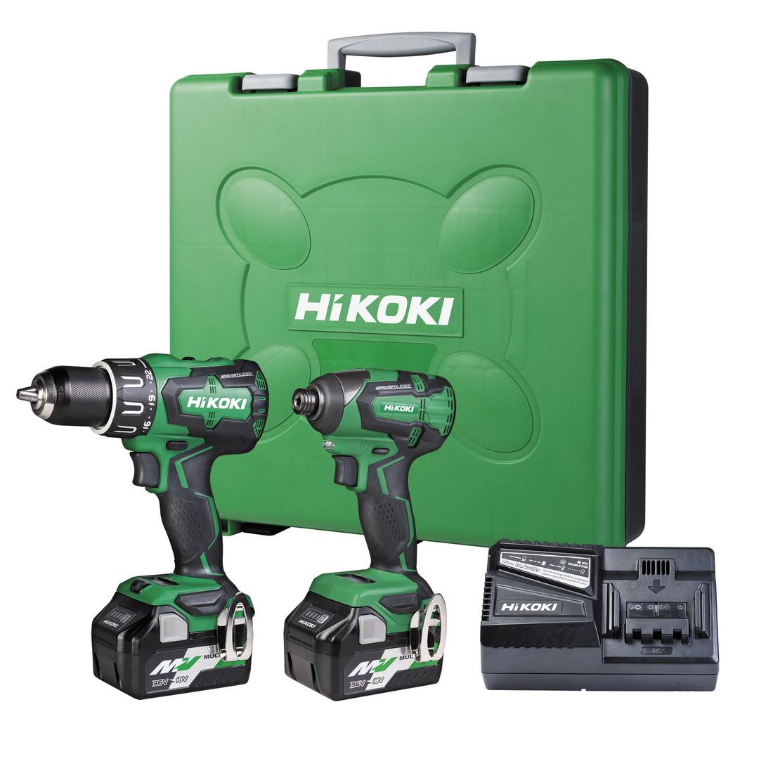 Impact Drill & Driver Multi Volt Kit KC18DBSL(GDZ)