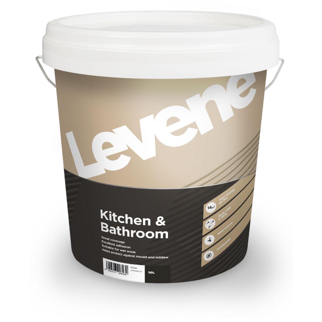 Kitchen Bathroom White 10L