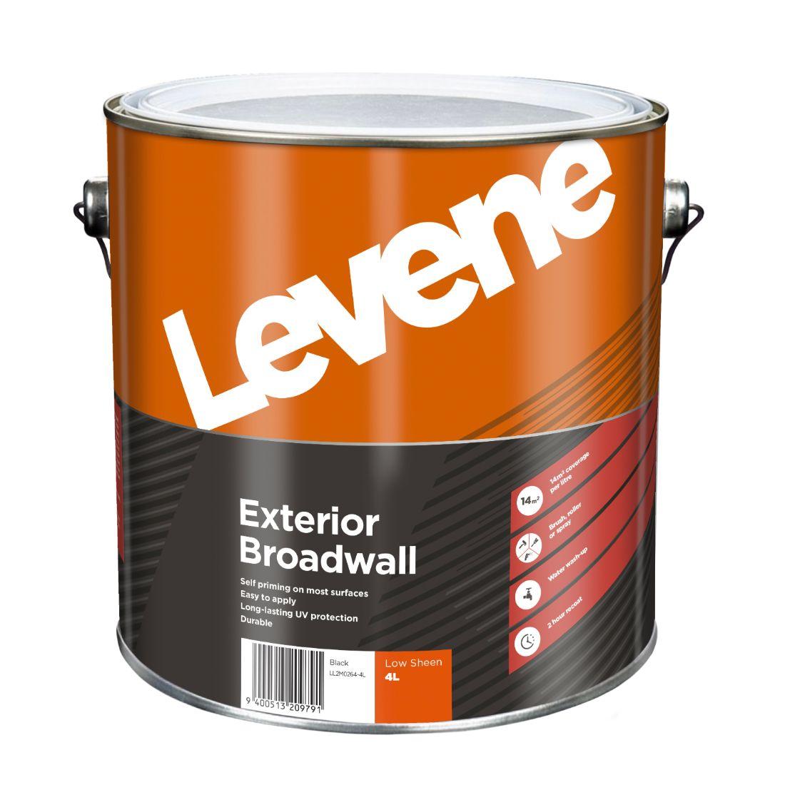 Exterior Low Sheen Black 4L