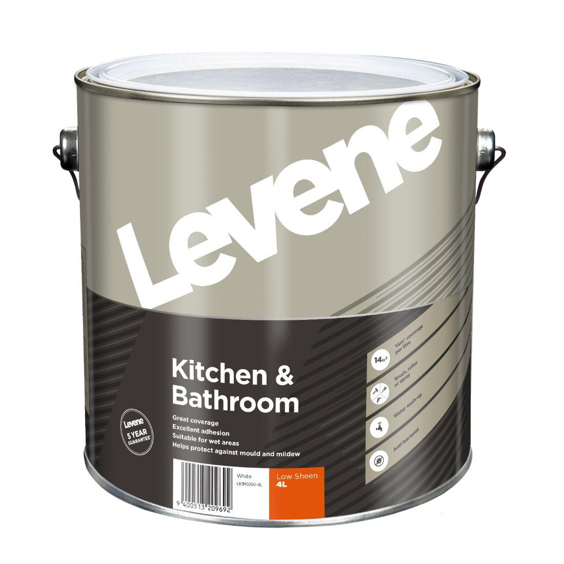 Kitchen Bathroom White 4L