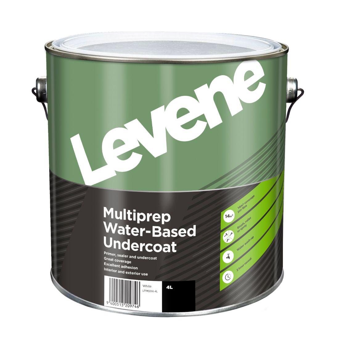 Multi Prep Water Based Undercoat 4L