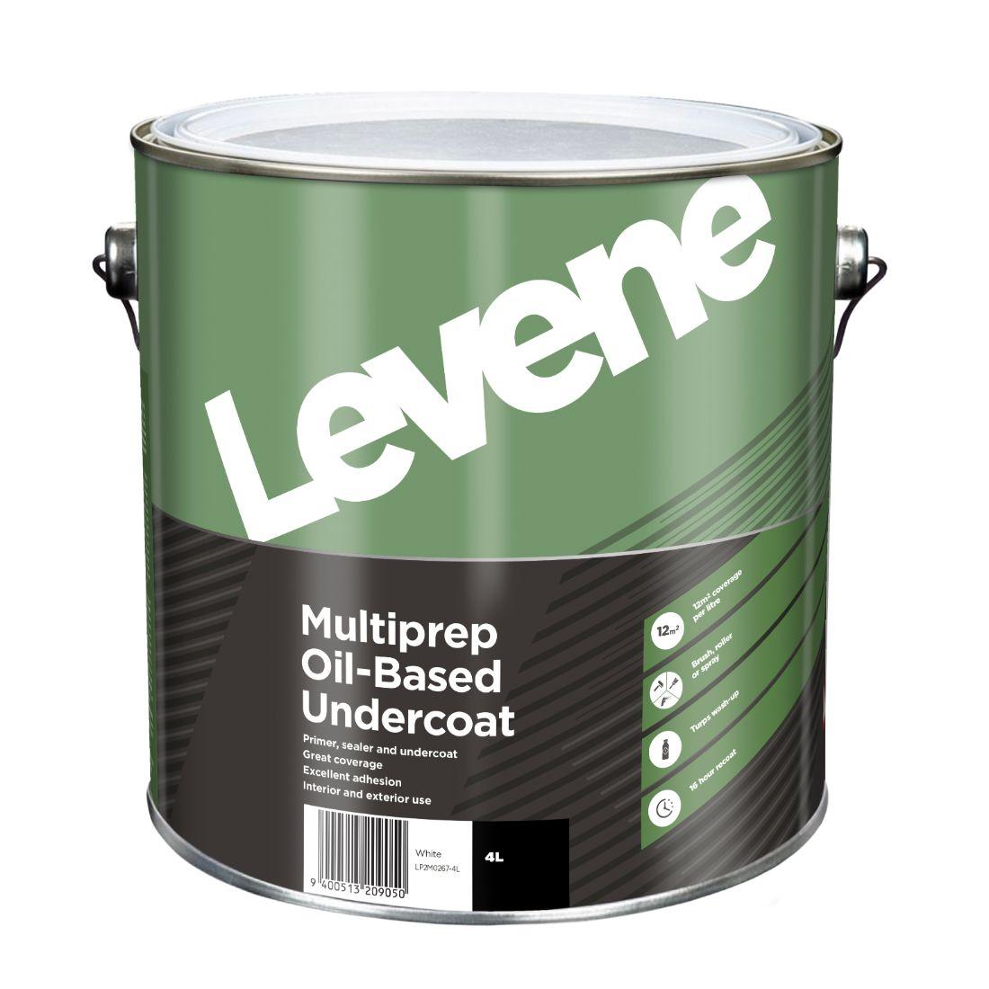 Multi Prep Oil Based Undercoat 4L