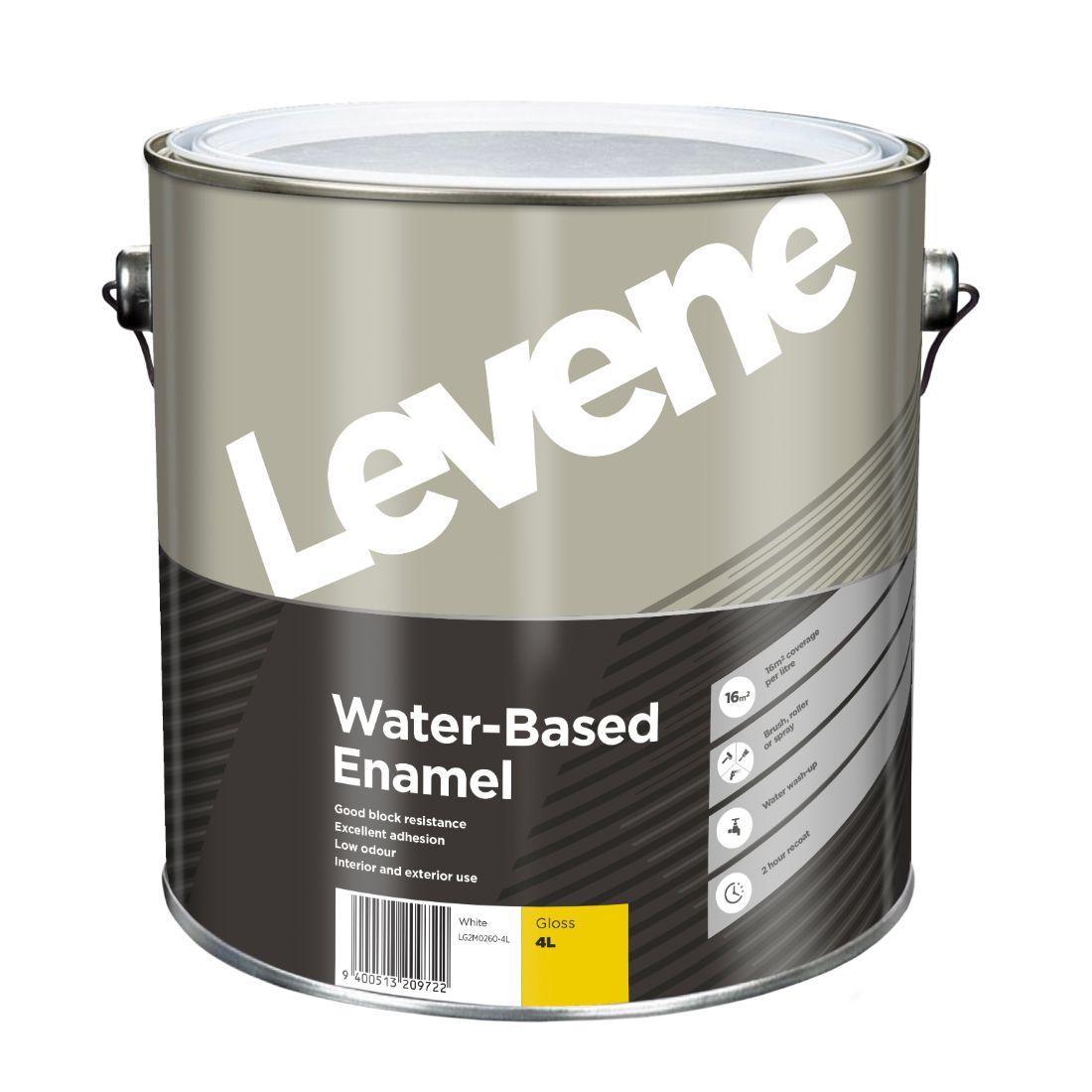 Water Based Enamel White 4L