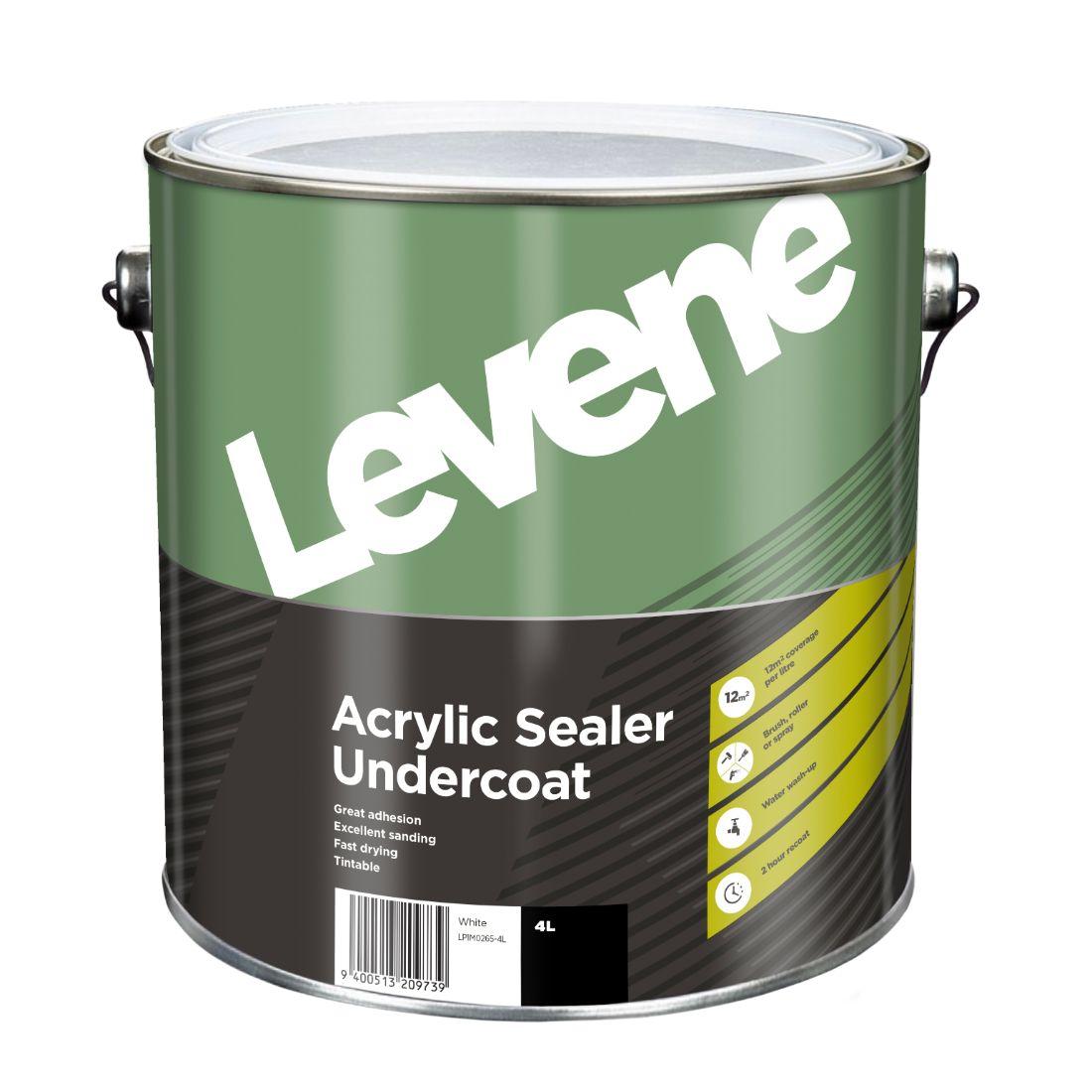 Acrylic Sealer Undercoat 4L