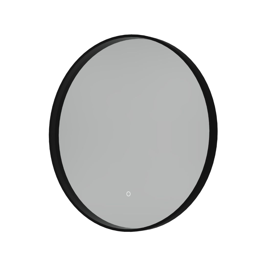 Shadow Mirror LED Demister 600mm Round Black
