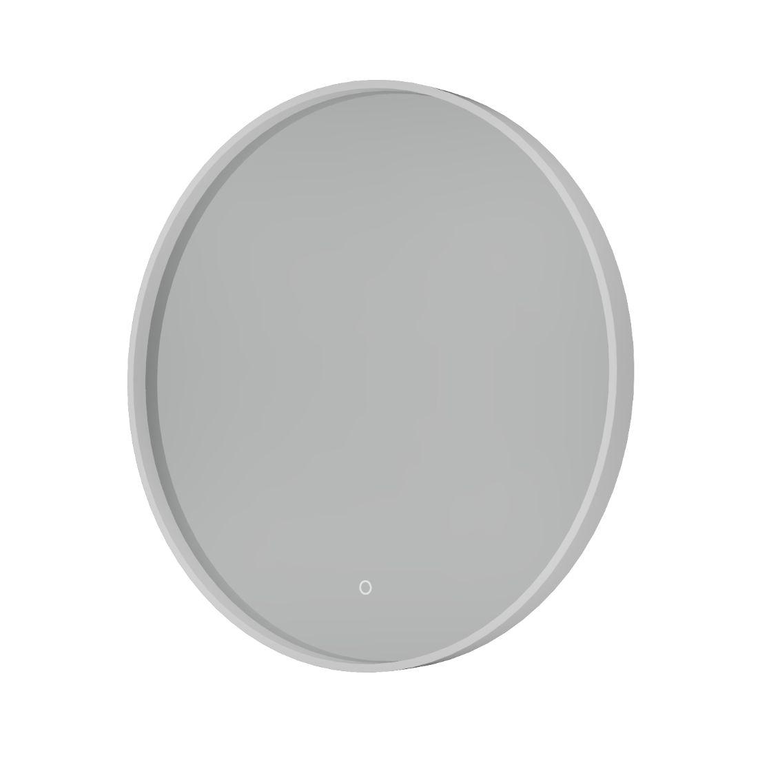 Shadow Mirror LED Demister 800mm Round White