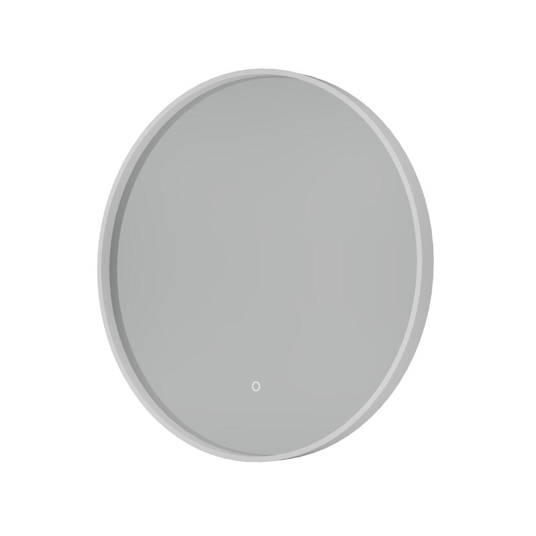 Shadow Mirror LED Demister 600mm Round White