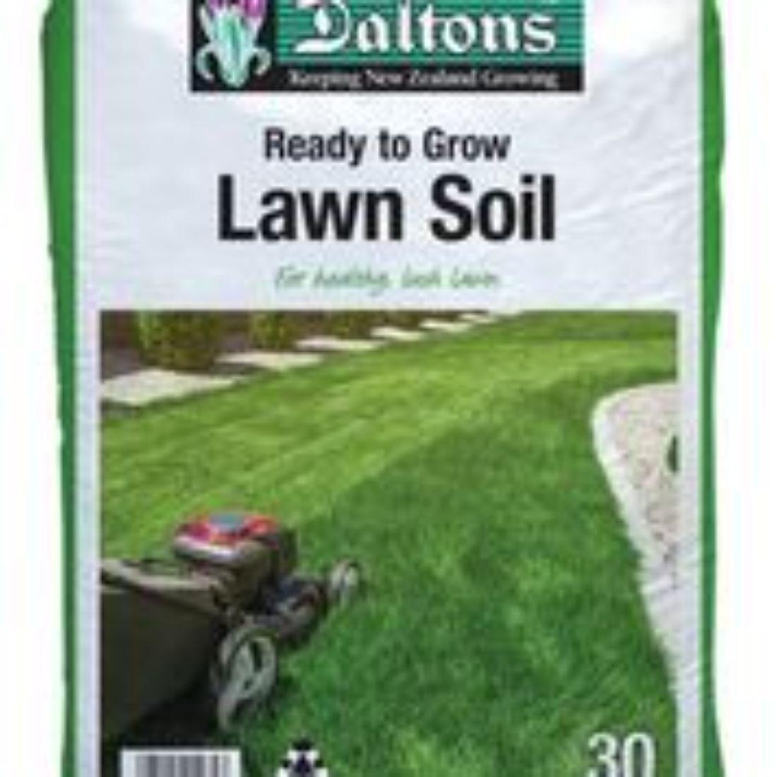 Lawn Soil 30L Bag