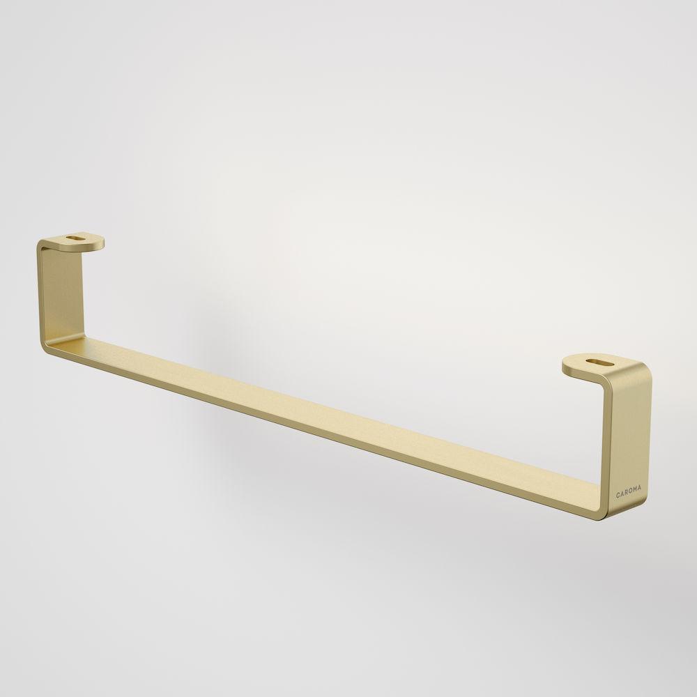 Urbane II Hand Wall Basin Integrated Rail Brushed Brass 99623BB