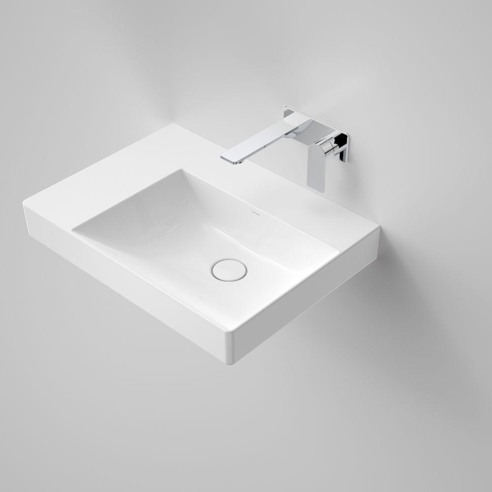 Urbane II Left Hand Shelf Wall Basin No Tap Hole 878800W