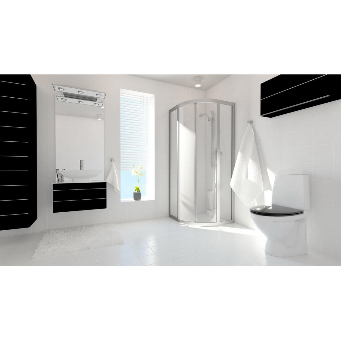 Showerline 2400 x 1200 x 4.75mm Acp Wet Wall Lining White