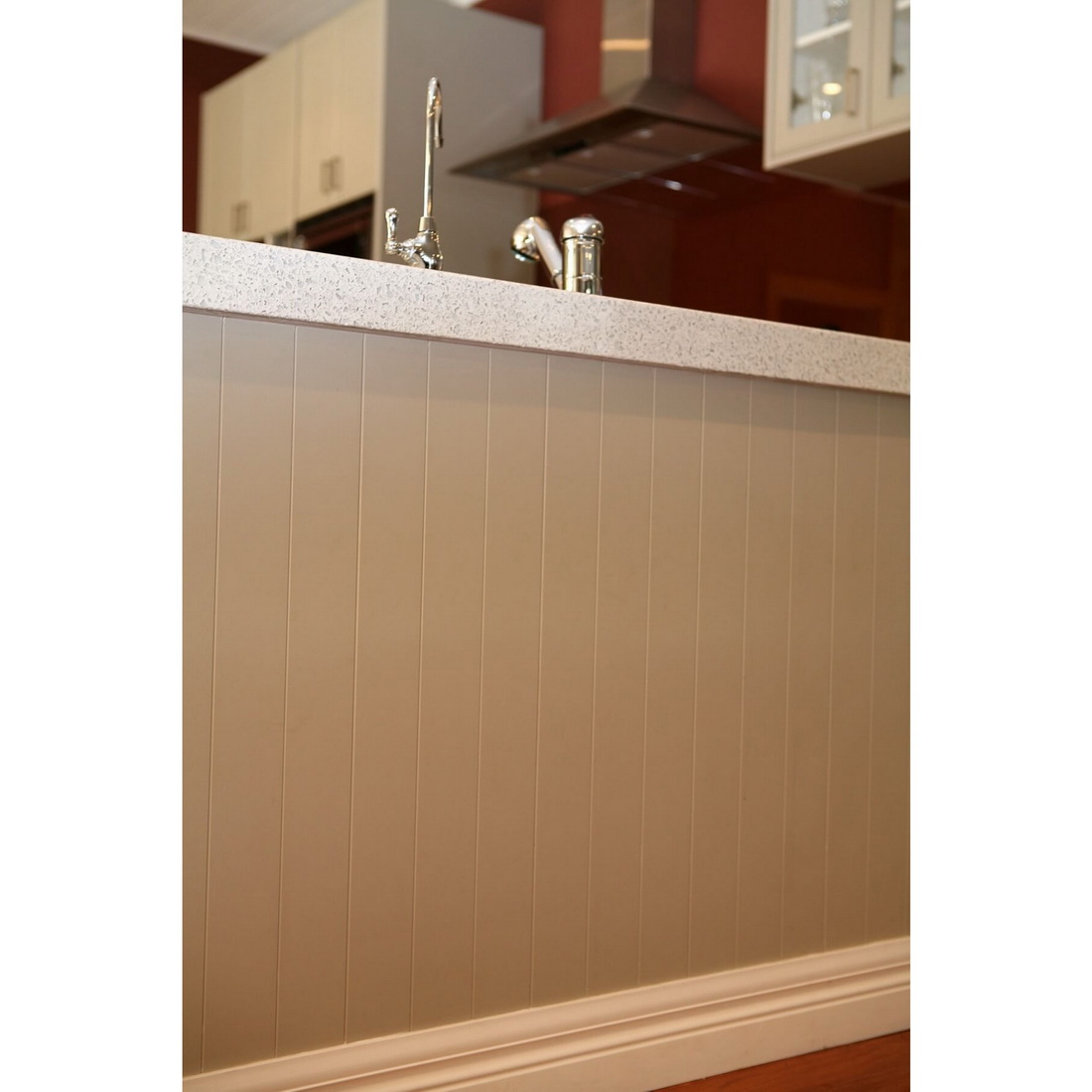 IBS Paneline V-Groove MDF Panel 2440 x 1220 x 9 mm Surface Paint