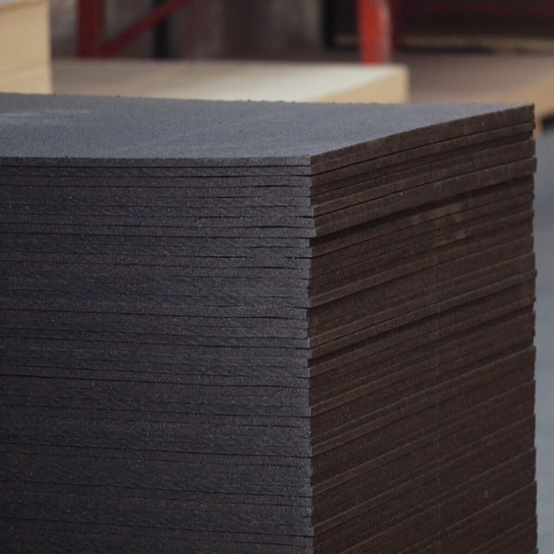 IBS Primed Softboard 2440 x 1200 x 12 mm Black Wood Fiber SBP122412