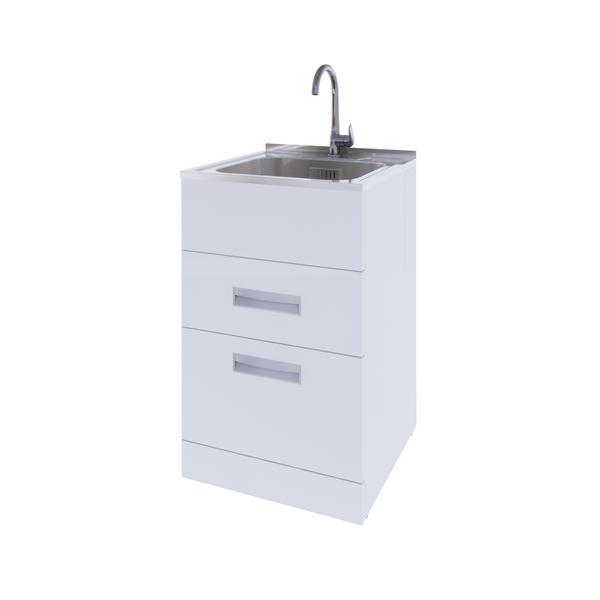 Urban Laundry Tub 2 Drawer Cabinet 560mm URBAN560 MAX