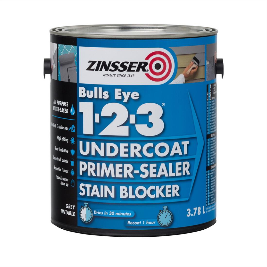 Zinsser Bulls Eye 123 Primer Sealer 3.78L