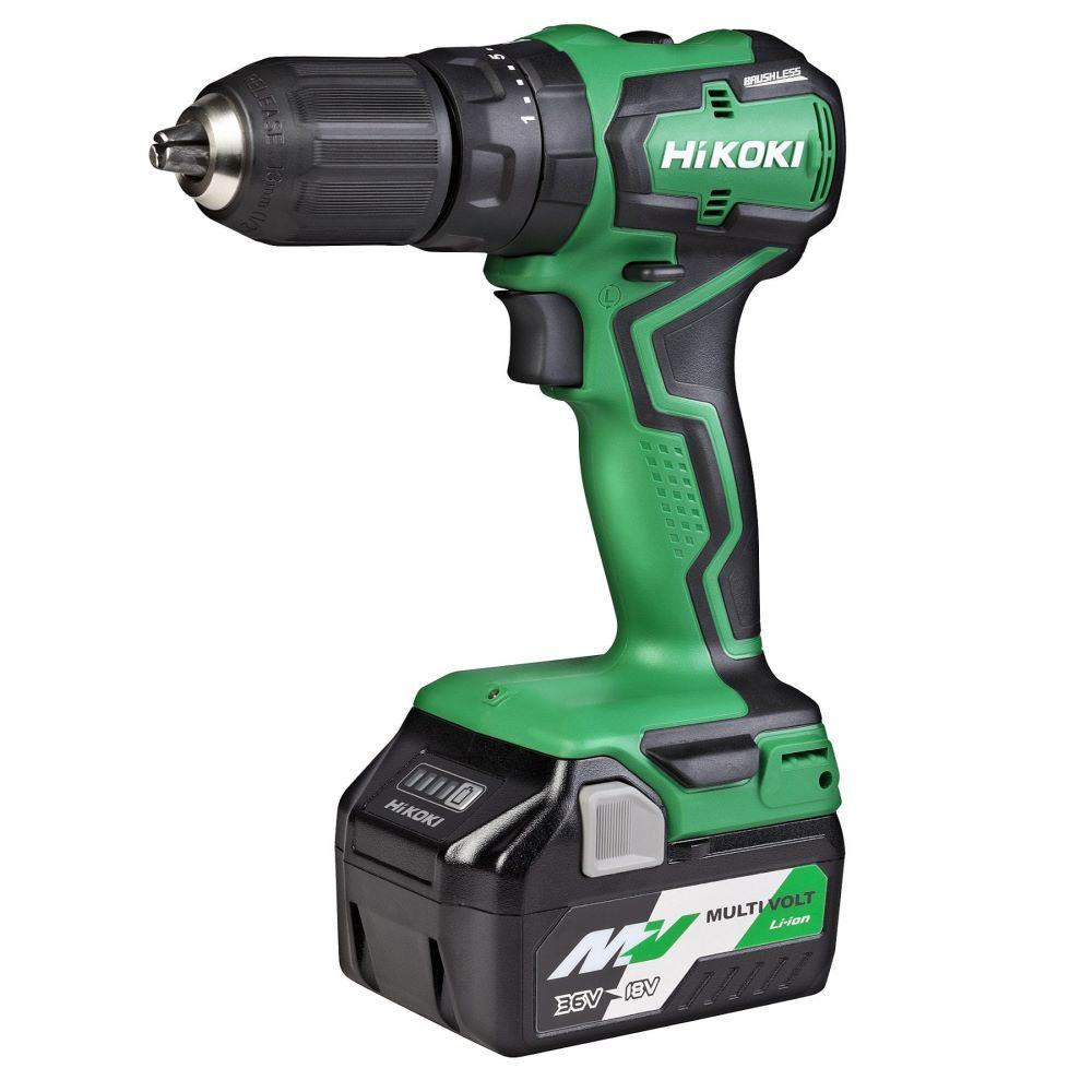 Impact Drill 18V Compact Brushless Kit 13mm DV18DD(GLZ)