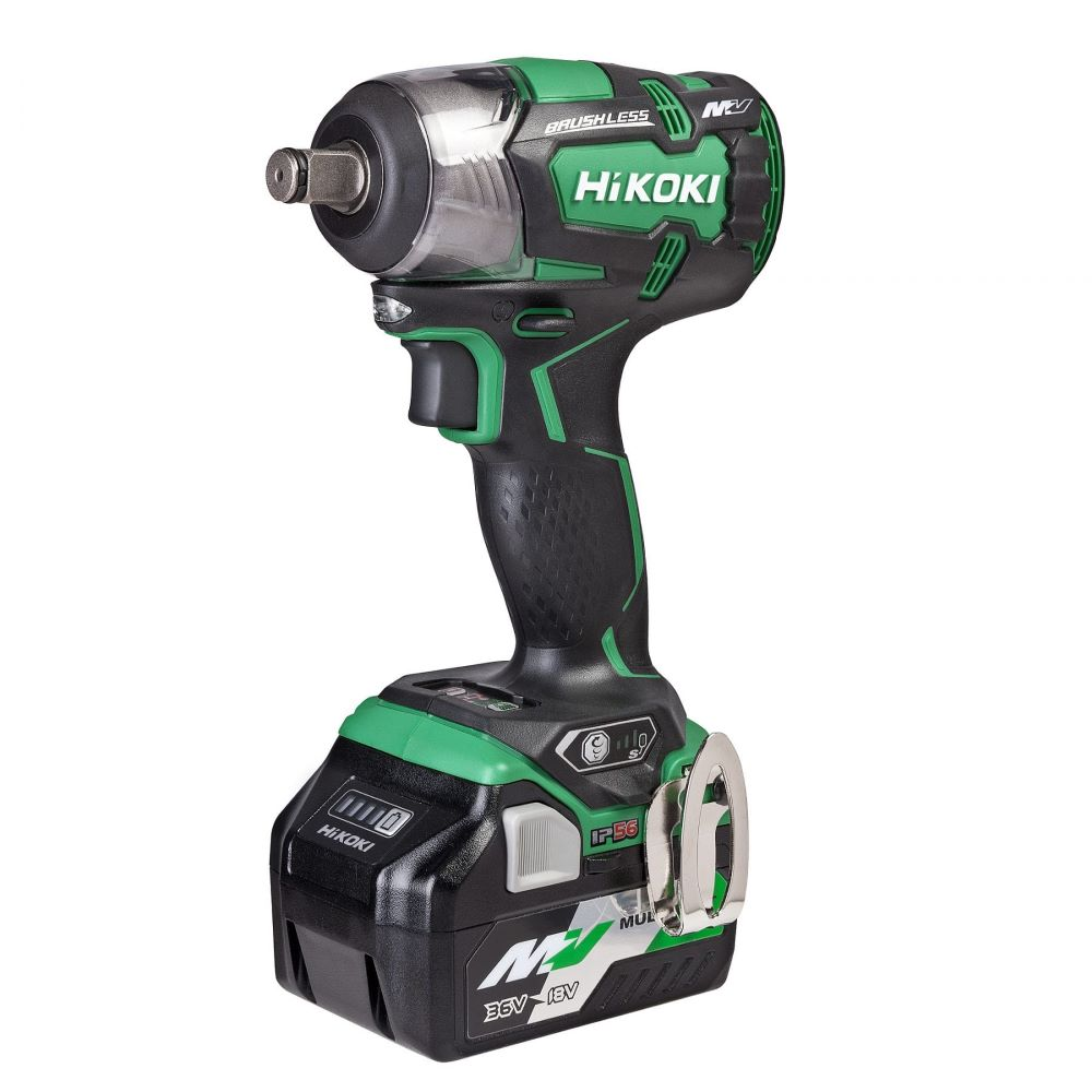 Compact Impact Wrench 36V Kit 320nm WR36DC(GRZ)