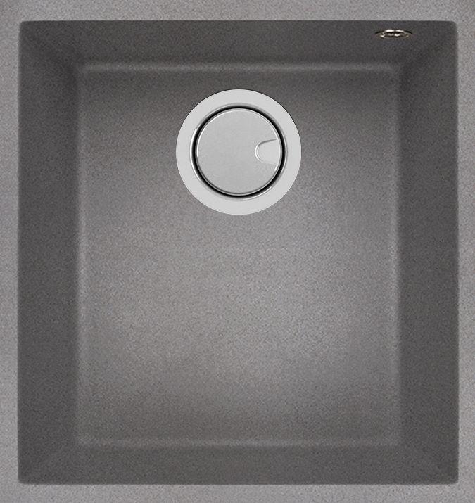Duro Granite Bescia Single Bowl DG100U-C Concrete