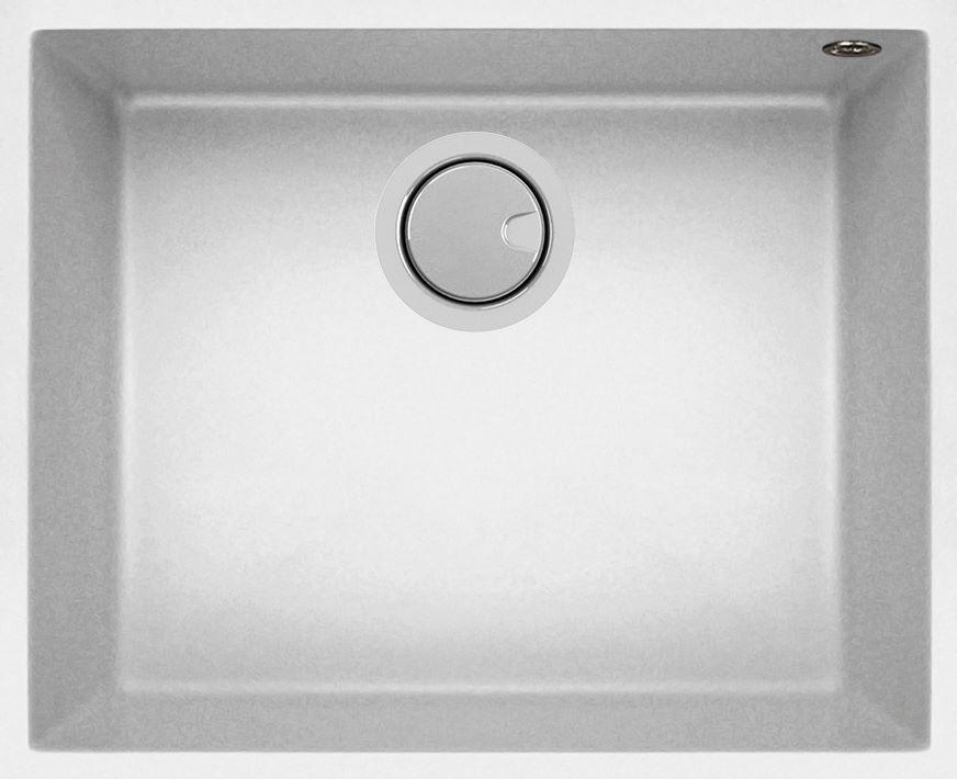 Duro Granite Bologna Single Bowl DG130U-W White
