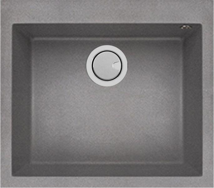 Duro Granite Arezzo Single Bowl DG130T-C Concrete