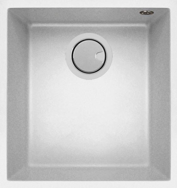 Duro Granite Cagliari Single Bowl DG100U-W White