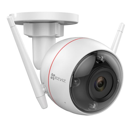 Outdoor WiFi Smart Home Camera with Colour Night Vision C3W