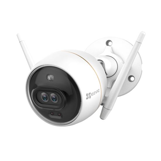 Outdoor WiFi Smart Home Camera with Dual-lens & Built-in AI C3X
