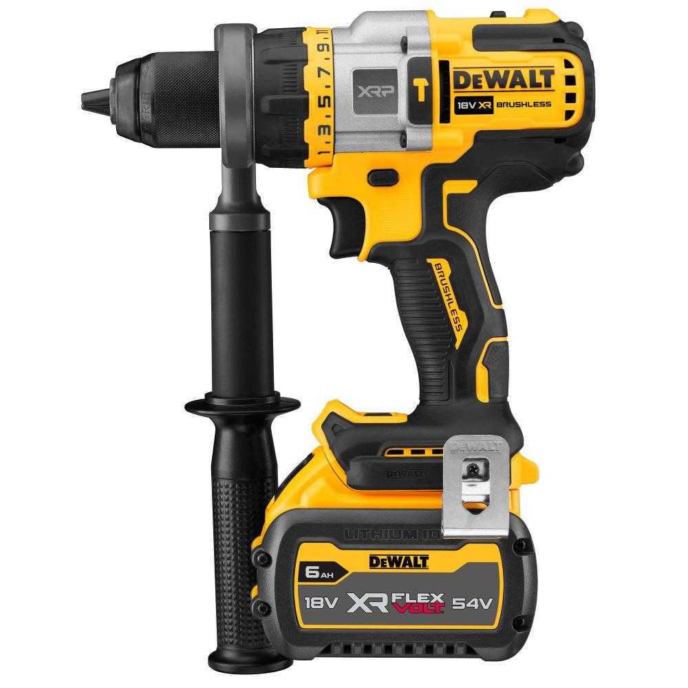 18V XR FlexVolt Advantage Brushless Hammer Drill 6.0Ah DCG416T1-XE