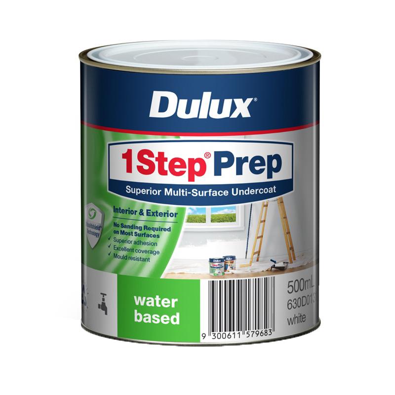 1Step Prep 500mL Multi Surface Water Based Primer Sealer Undercoat White