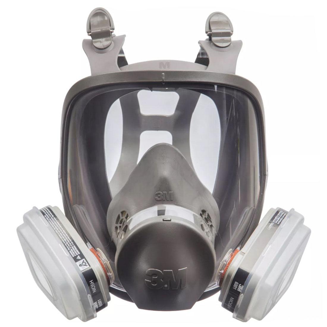 TEKK  Full Face Paint Project Respirator Grey 68P71