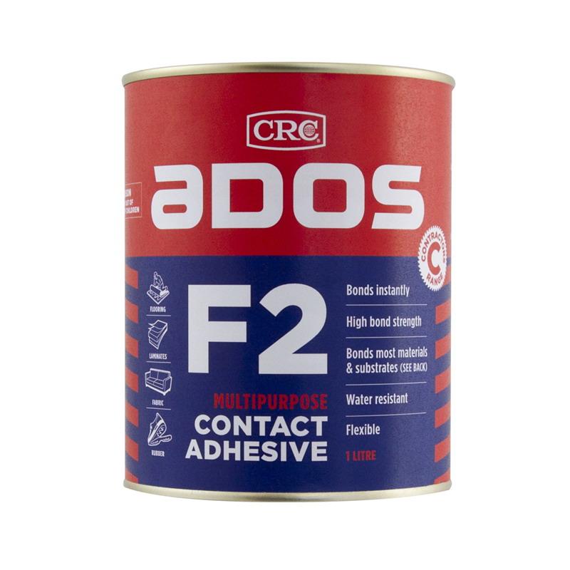 ADOS F2 1L Multi-purpose Contact Adhesive Honey