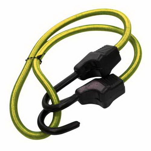 Supastrap Bungee Cord 600 mm Polyster Braid/Plastic Coated Steel Hook SUPA60