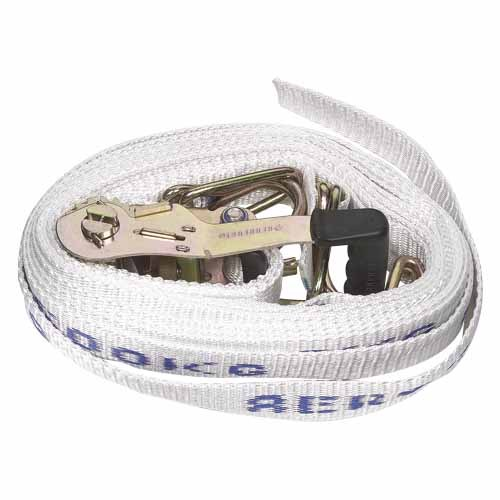 Truck Ratchet Tiedown with Hooks & Keepers 50mm x 9m 2500kg T9WS