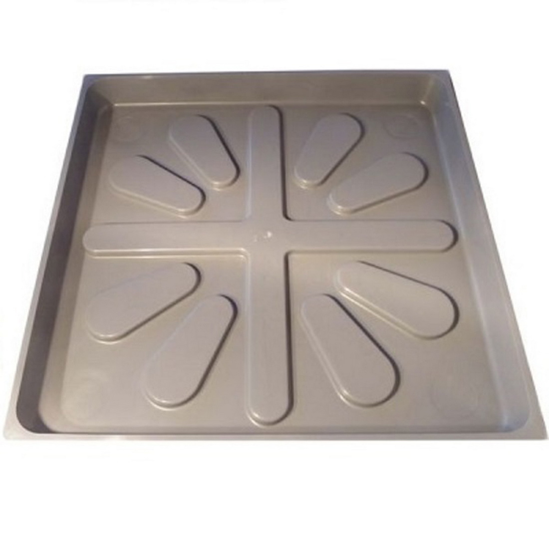 Aqualine Hot Water Square Cylinder Tray PVC 610 mm CYLTRAYL