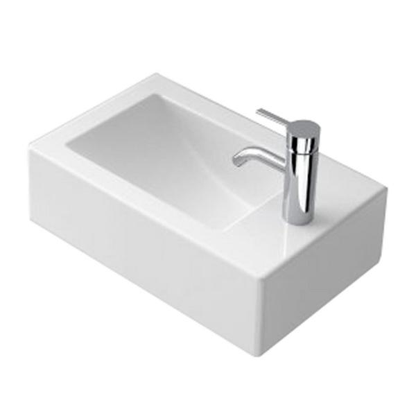 Caroma Liano Rectangular Wall Basin White 2 L 170 x 280 x 460 mm