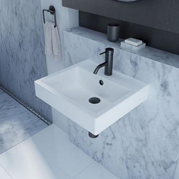 Caroma Liano Nexus Square Wall Basin White 5.3 L 177 x 400 x 450 mm