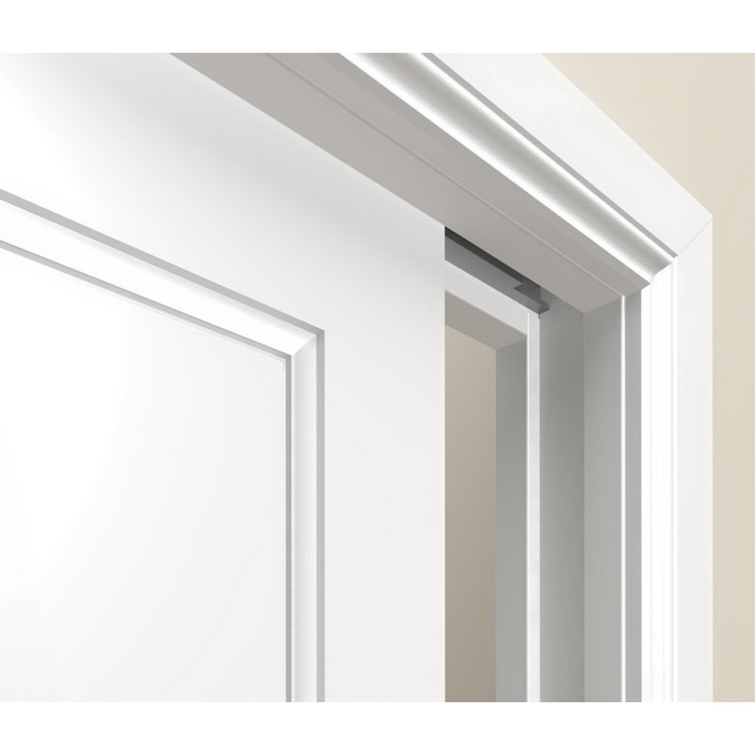 Cavity Slider SofStop Timber Flat Combo Architrave Jamb 1980 x 710 x 10 mm Clear Pine STSPA.710CL200KIT