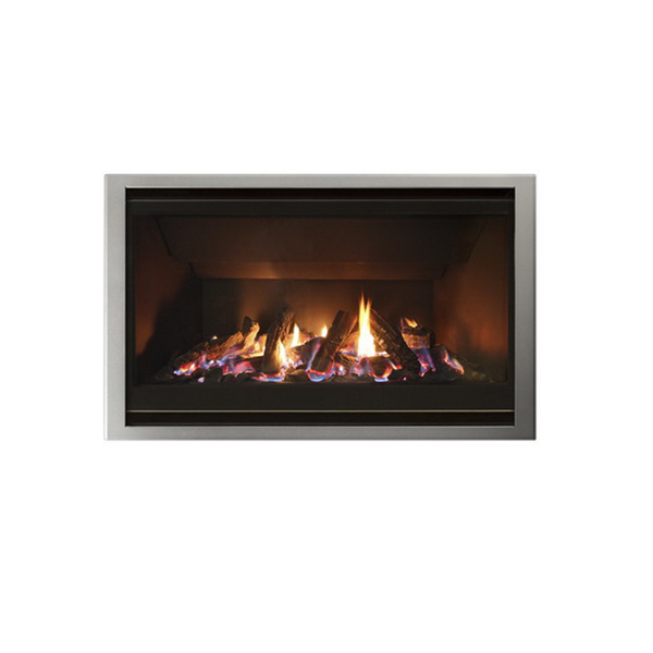 DF960 7.7kW Single-Sided NG/LPG High Output Fireplace
