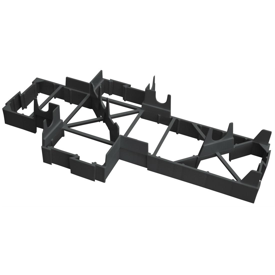 Expol Unimax Tuff Pod Spacer 50 x 200 x 400 mm Black SPACERMAX