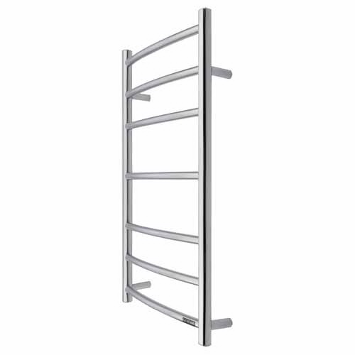Goldair Dual Round Heated Towel Rail Ladder 800 x 630 mm Scratch-Resistant 7 Bars GLTR7C