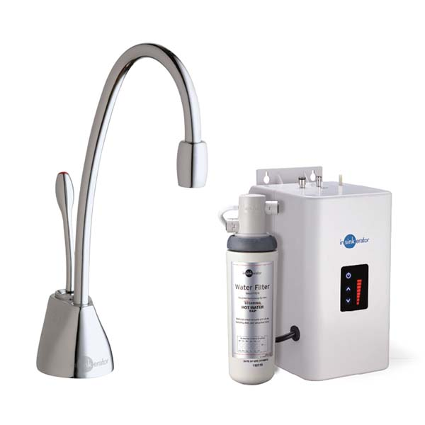 InSinkErator HotTap GN1100C Steaming Hot Water Tap - Chrome