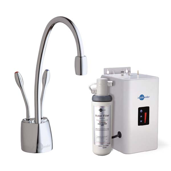 InSinkErator HotTap HC1100C Steaming Hot/Standard Cold Water Tap - Chrome